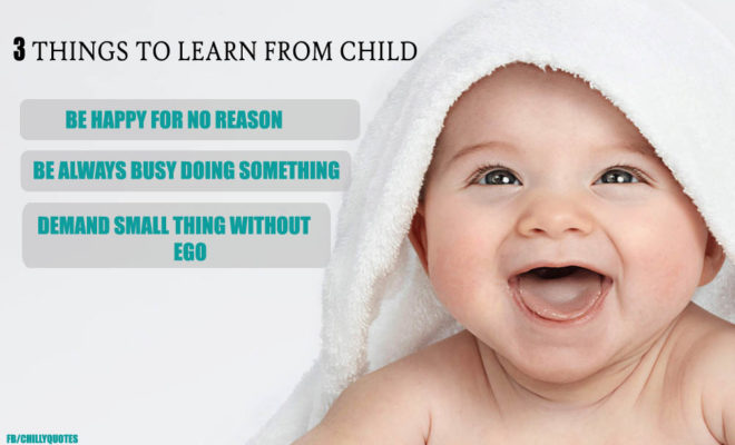 LEARN FROM CHILD
