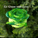 go green with love
