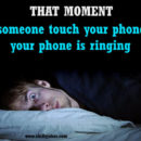 touch your phone