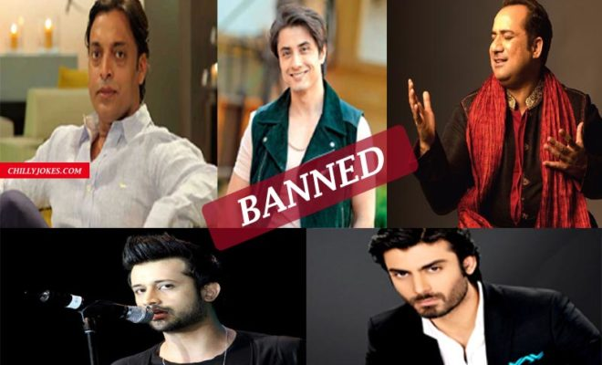 BANNED ACTORS IN INDIA