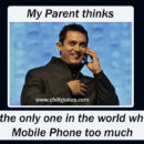 Use mobile phone