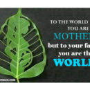YOU ARE WORLD