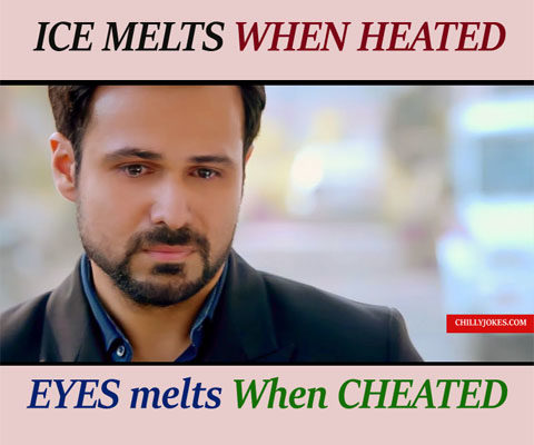 EYES MELT WHEN CHEATED