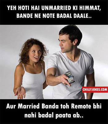 MARRIED VS UNMARRIED