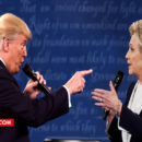 trump and hillary FIGHT