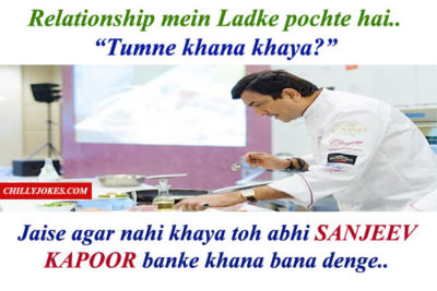 SANJEEV KAPOOR JOKES