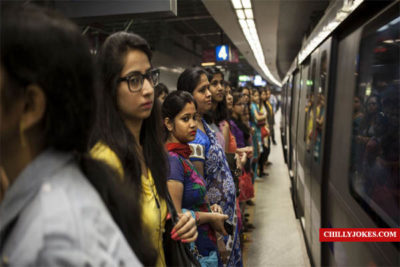 CISF Gift to Girls in Metro