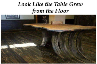 table-grew-from-floor