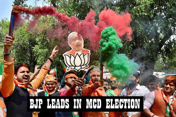 BJP-LEADS-IN-MCD-ELECITON
