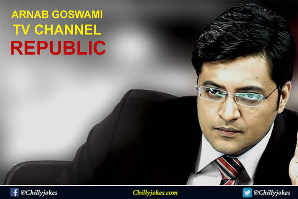 REPUBLIC LAUNCH BY ARNAB GOSWAMI