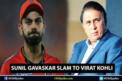 SUNIL GAVASKAR SLAM TO VIRAT KOHLI BUT FAN MOTIVATE HIM