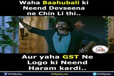 Gst LAtest jokes