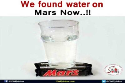 Hindi Jokes on Water on Mars