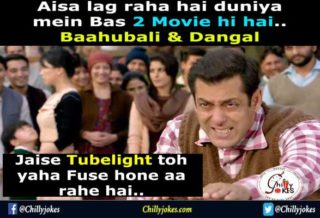 Hindi Jokes on Tubelight