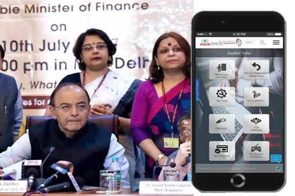 AAYKAR SETU APP LAUNCHED BY CBDT