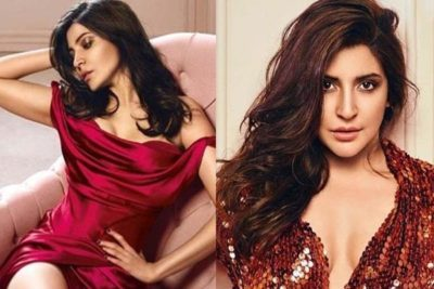 Spotlight again Falls on Anushka Sharma for Her Bold Pictures