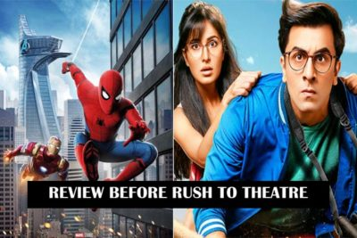 REVIEW ON SPIDERMAN HOMECOMING AND JAGGA JASOOS MOVIE