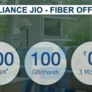 RELIANCE JIO COMING WITH SUPER OFFER FIBER