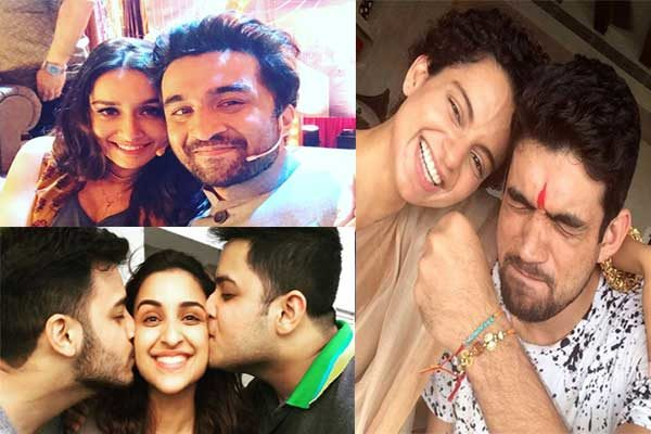 See the Pictures of Celebrities and Know how they Celebrated this Raksha Bandhan